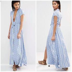 Tularosa Maxi Blue Joel Dress